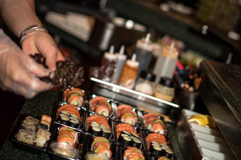 Sushi unterwegs geniessen