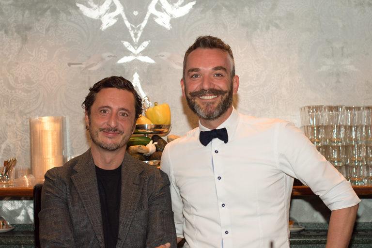 Inhaber Sushing Lutz Ellermann und Claudio Pusterla